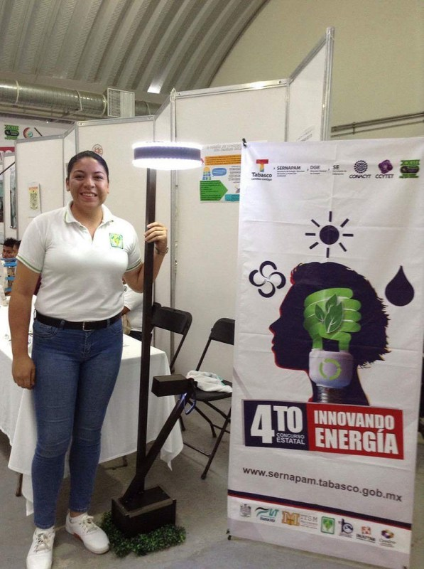 luminaria solar 597x800 Crea una mexicana luminaria solar para abastecer energía a comunidades rurales
