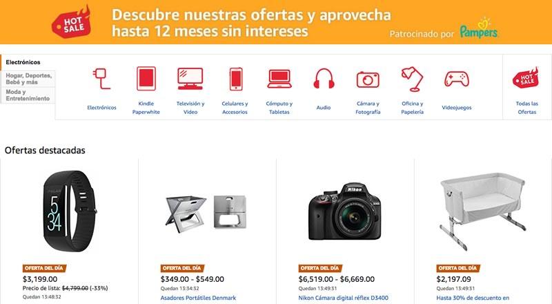 Primeras ofertas de Hot Sale 2017 en Amazon México - ofertas-hot-sale-2017-amazon-mexico