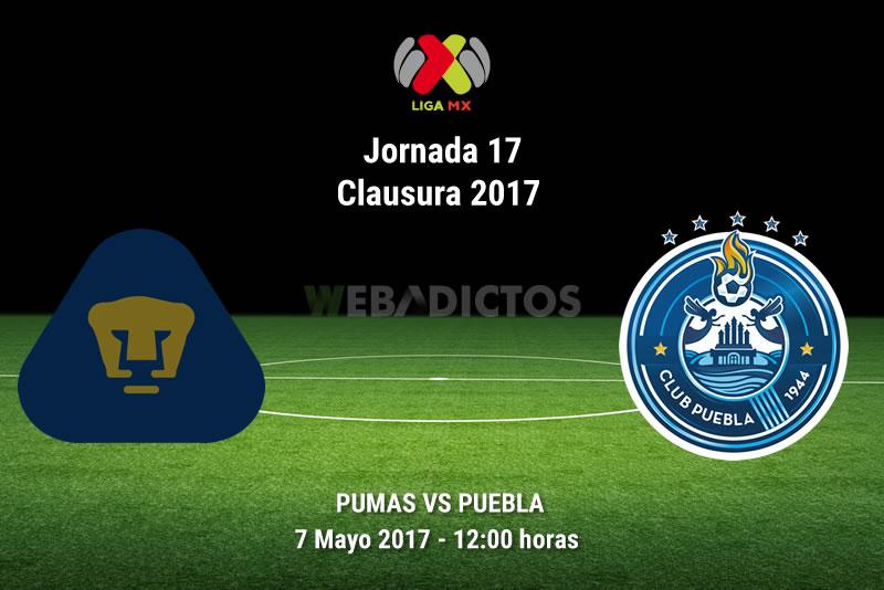 Pumas vs Puebla, Jornada 17 Clausura 2017 | Resultado: 0-1 - pumas-vs-puebla-j17-clausura-2017