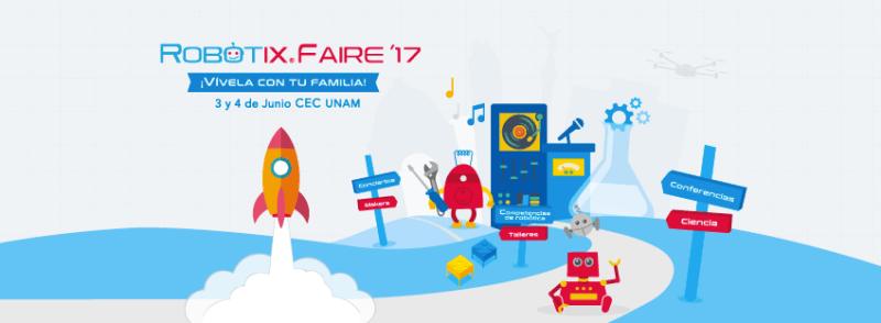 Llega RobotiX FAIRE, la competencia de robótica para niños más grande de Latinoamérica - robotix-faire-800x294