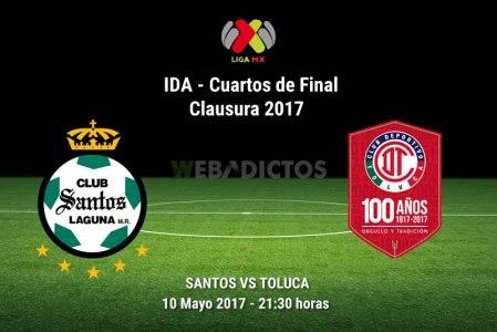 Santos vs Toluca, Liguilla del Clausura 2017   Resultado: 1-4