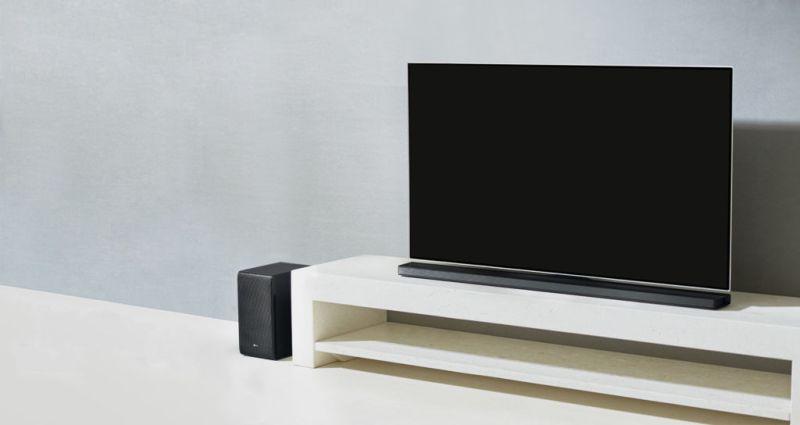 sj8 barra de sonido 800x425 Nueva gama de equipos de audio y barra de sonido LG