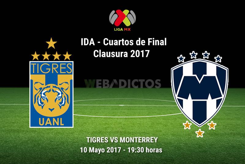Tigres Vs Monterrey >> Tigres Vs Monterrey Liguilla Del Clausura 2017 Resultado 4 1