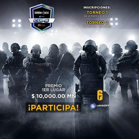 Tom Clancy's Rainbow Six Siege Cups ¡Ya puedes inscribir a tu equipo!