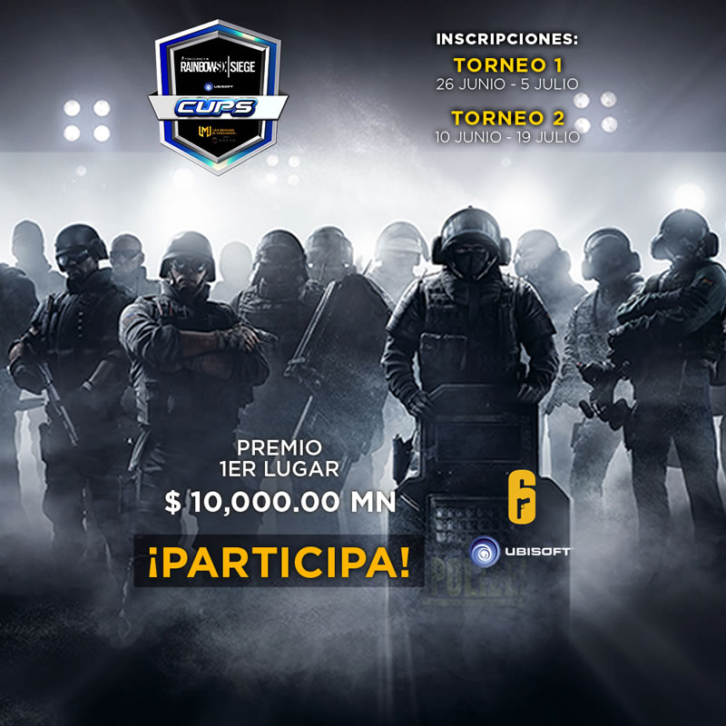 tom clancys rainbow six siege cups Tom Clancy's Rainbow Six Siege Cups ¡Ya puedes inscribir a tu equipo!