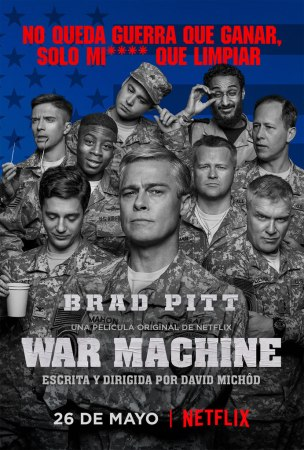 Netflix revela nuevo trailer de War Machine