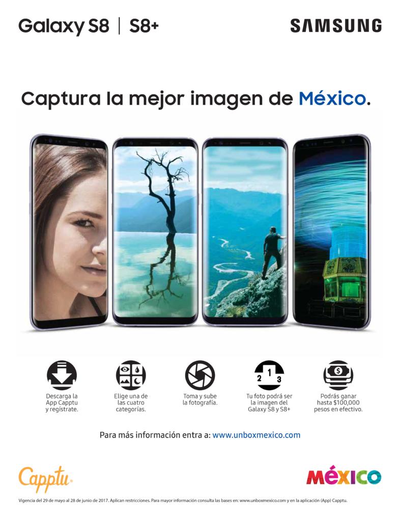Samsung anuncia concurso fotográfico que invita a capturar la grandeza de México - unboxmexico-galaxys8