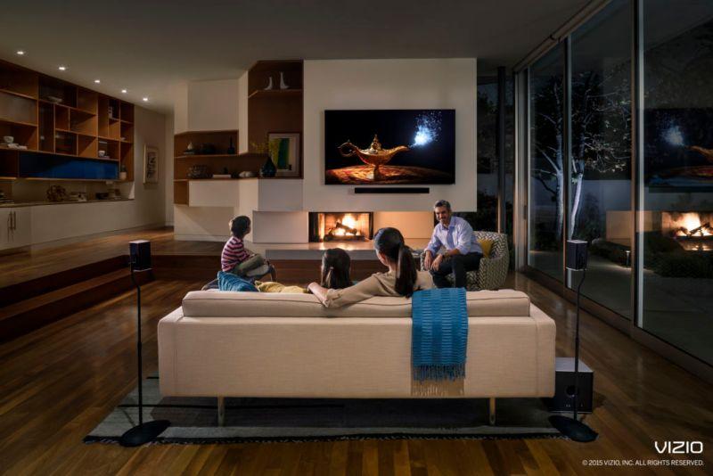 vizio 2015spaudio livingnight lifestyle logo copyright 800x534 VIZIO presenta la colección completamente nueva D Series en México