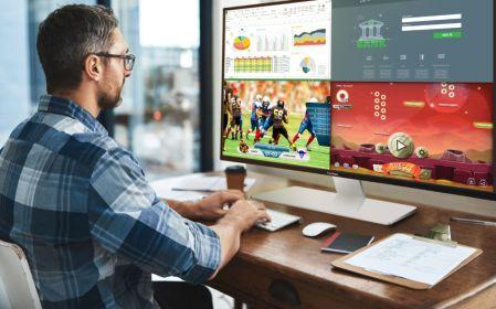 Nueva pantalla de 43 pulgadas 4K ViewSonic con función de multitareas