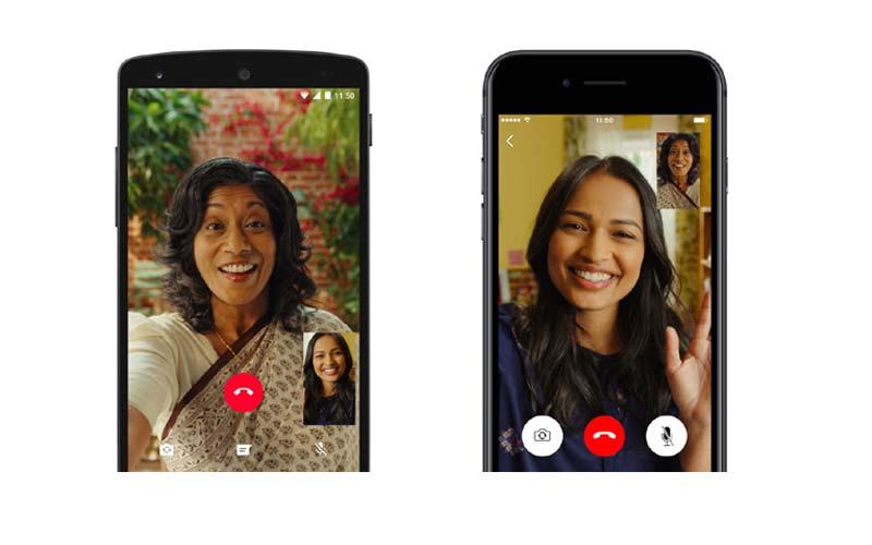 WhatsApp alcanza los 55 millones de videollamadas al día