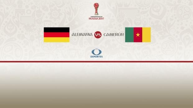 Alemania vs Camerún, Confederaciones 2017 | Resultado: 3-1 - alemania-vs-camerun-copa-confederaciones-televisa