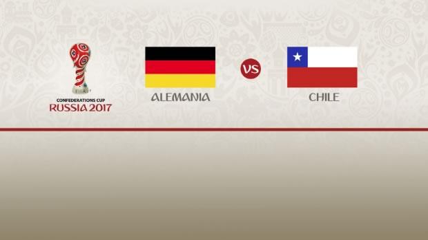 Alemania vs Chile, Copa Confederaciones 2017 | Resultado: 1-1 - alemania-vs-chile-confederaciones-2017-televisa-deportes