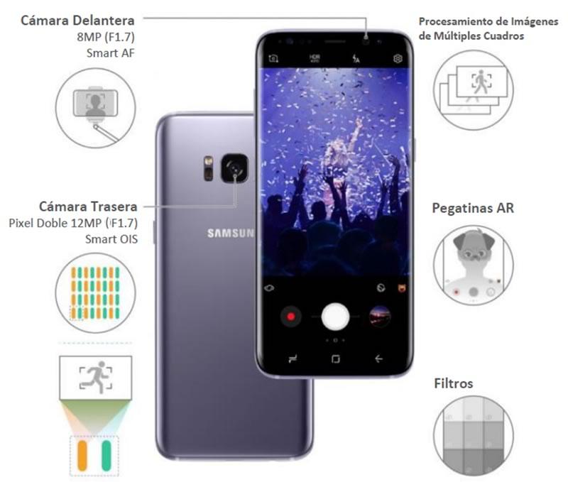 Conoce más de la cámara del Samsung Galaxy S8 - camara-s8-6