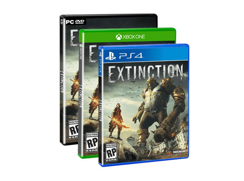 extinction maximum games Iron Galaxy y Maximum Games anuncian su veloz juego de acción: Extinction