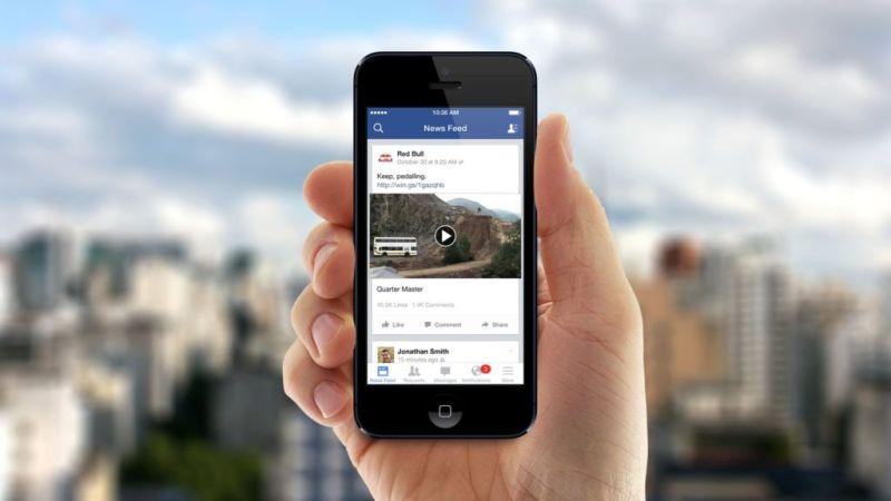 Facebook planea invertir en contenido original creado en Hollywood - facebook-video