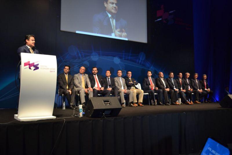 Primer Digital Economy Show, plataforma que vincula a las empresas con expertos y proveedores de tecnología - foro-digital-economy-show-800x534