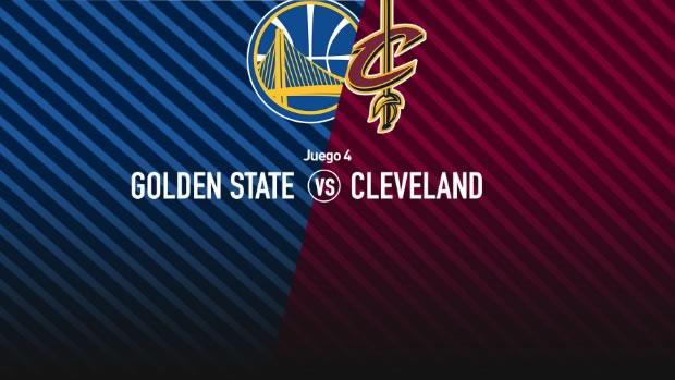 Warriors vs Cavaliers, Juego 4 Final NBA 2017 | Resultado: 116-137 - golden-state-vs-cleveland-juego-4-final-nba-2017