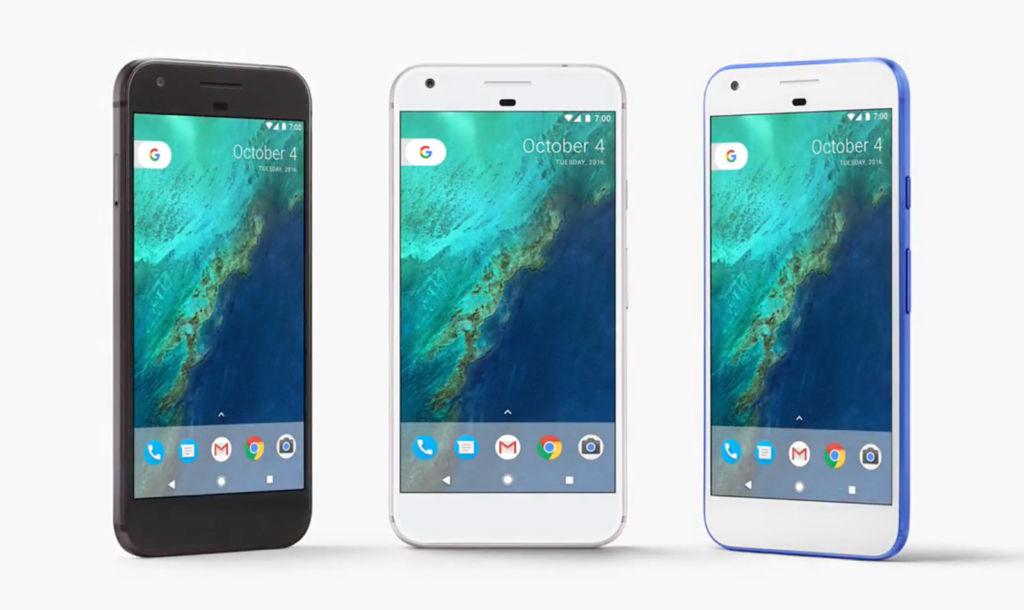 google pixel colors Google ofrecerá hasta 3 años de actualizaciones para sus dispositivos
