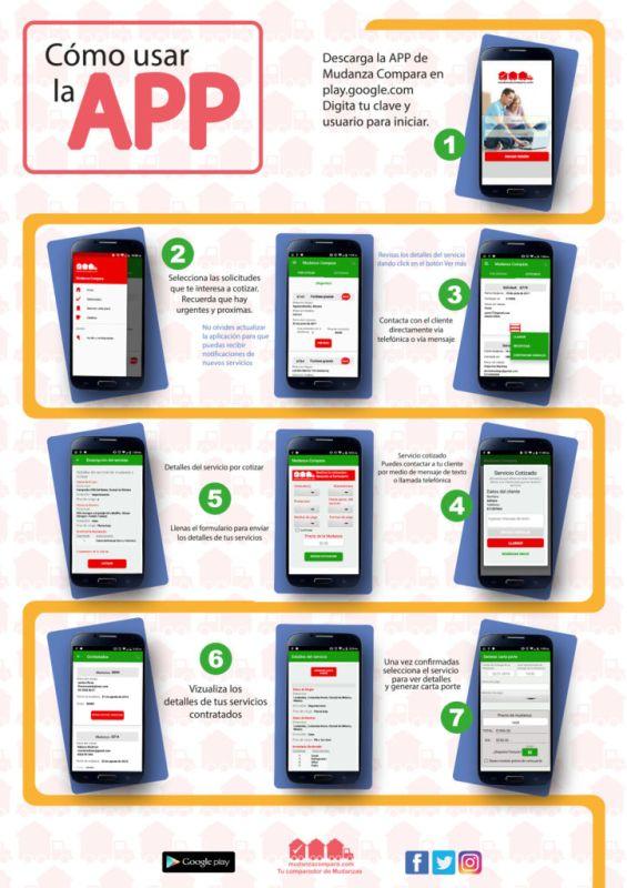 info app 565x800 Mudanza Compara, startup creada para que realices tu mudanza de forma rápida y sencilla