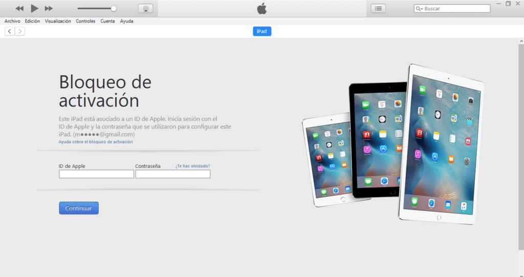 Regresa tu iPhone, iPad o iPod Touch a iOS 10 desde iOS 11 Beta - iniciar-sesion-ipad