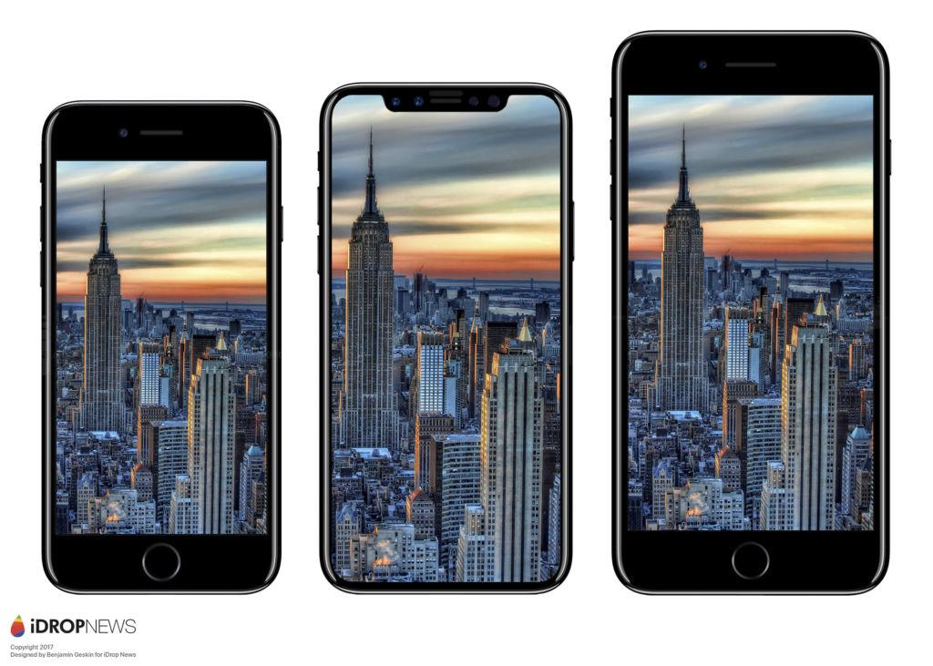 Futuros productos de Apple revelados en Reddit - iphone-8-idrop-news-render
