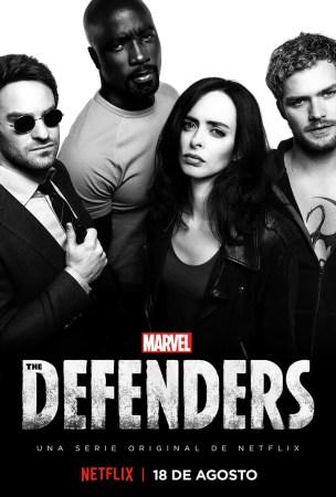 Netflix revela el arte principal de Marvel's The Defenders.