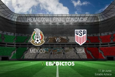 México vs Estados Unidos 2017, Hexagonal Final | Resultado: 1-1