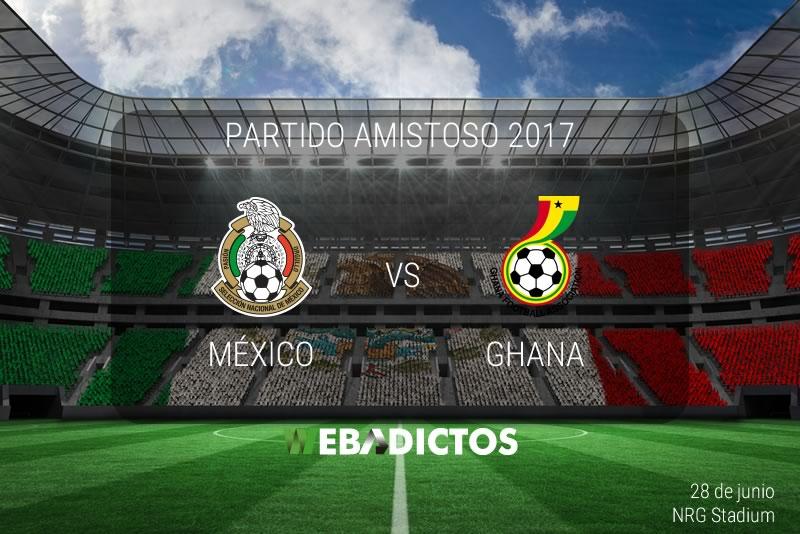 México vs Ghana, Amistoso 2017 | Resultado: 1-0 - mexico-vs-ghana-amistoso-2017
