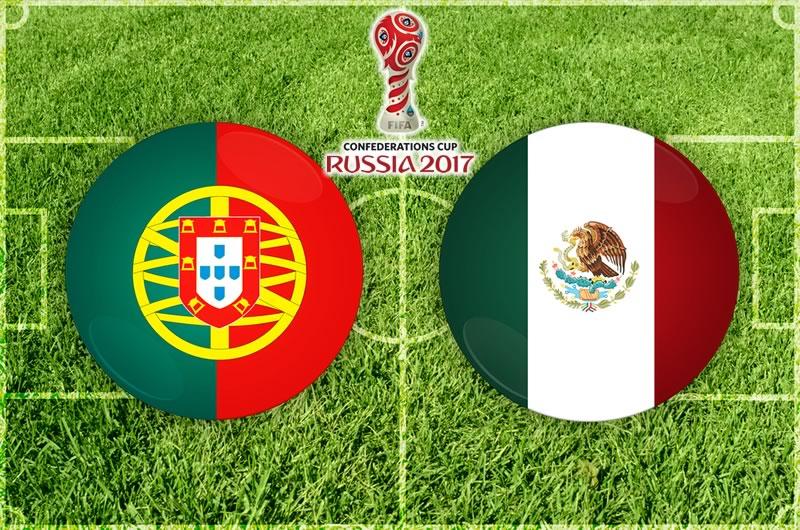 México vs Portugal, Copa Confederaciones 2017   Resultado: 2-2 - mexico-vs-portugal-confederaciones-2017