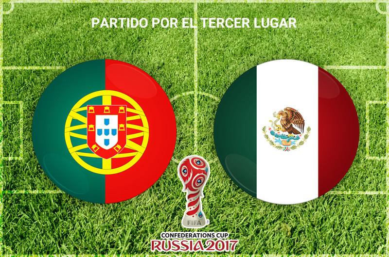 México vs Portugal, Tercer lugar Confederaciones 2017 | Resultado: 1-2 - mexico-vs-portugal-tercer-lugar-confederaciones-2017
