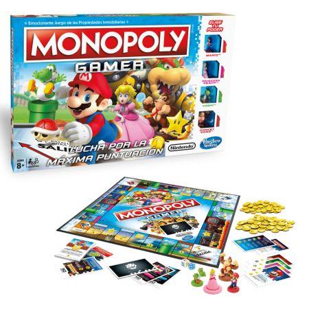 Hasbro y Nintendo presentan «Monopoly Gamer»