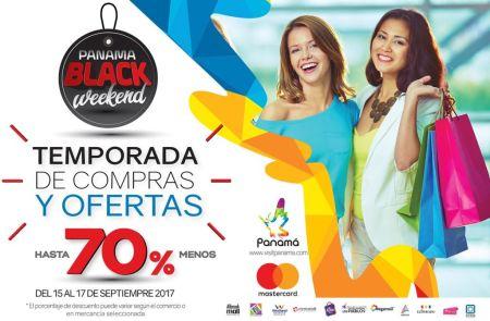 Panamá anuncian su primer Black Weekend