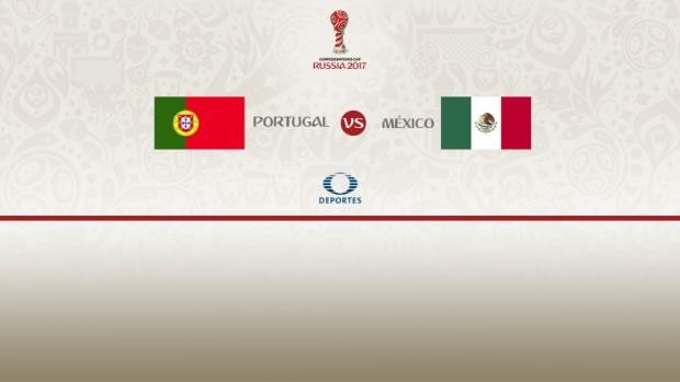 portugal vs mexico confederaciones 2017 México vs Portugal, Copa Confederaciones 2017 | Resultado: 2 2
