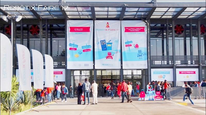robotix faire 2017 asistentes Más de 14,000 visitantes asistieron al Robotix Faire 2017