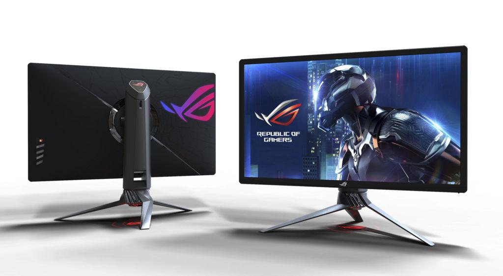 rog swift pg27uq es el primer monitor gamer de alta resolucion dinamica ASUS gana 20 premios en Computex 2017