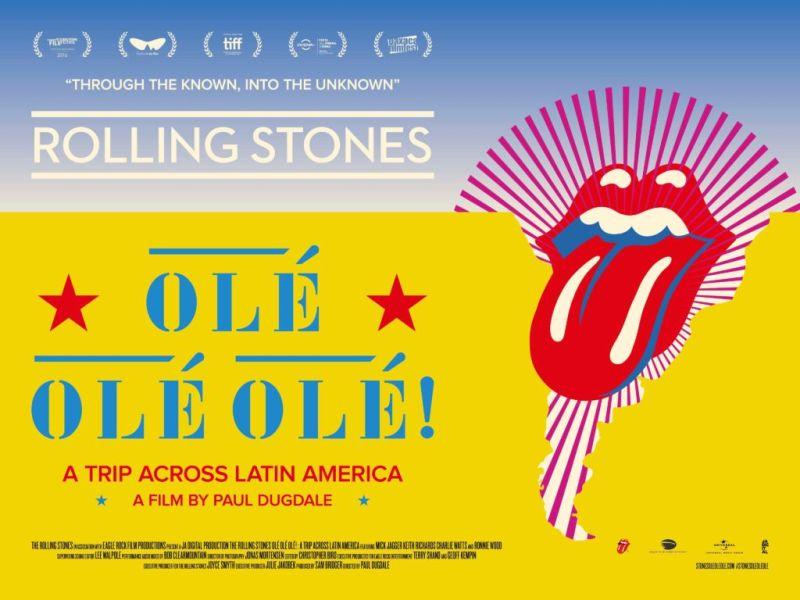 Cinépolis presenta documental Rolling Stones Olé Olé Olé!: un viaje a través de América Latina - rolling-stones-documental-800x600