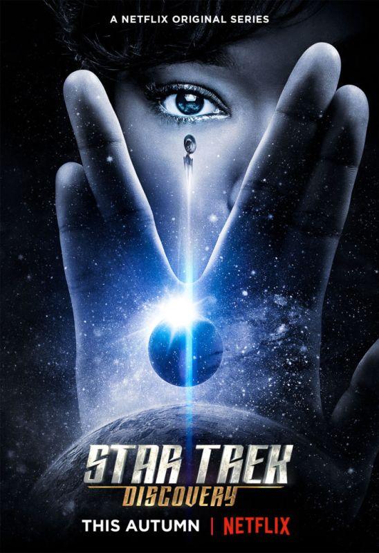STAR TREK: DISCOVERY se estrena en Netflix el 25 de Septiembre - star-trek-discovery-netflix-548x800