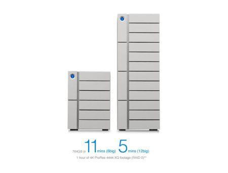 Thunderbolt 3 LaCie: el disco de almacenamiento más grande del mercado con 120 TB