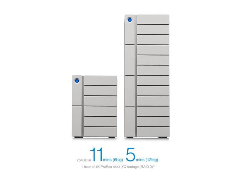 Thunderbolt 3 LaCie: el disco de almacenamiento más grande del mercado con 120 TB - thunderbolt-3-disco-seagate-800x606