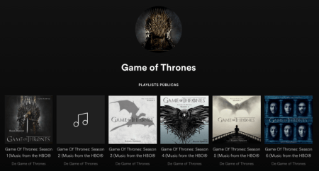 Spotify celebra el estreno de la 7a temporada de Game of Thrones
