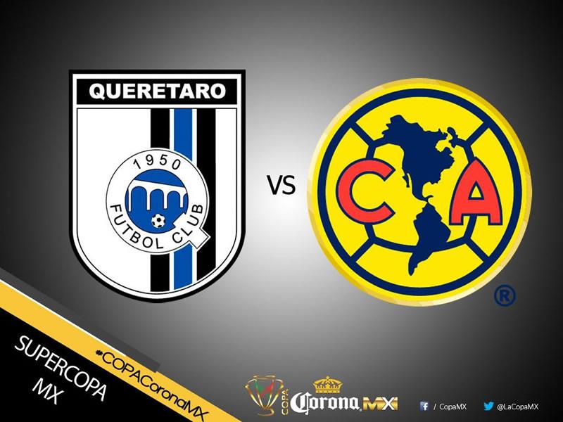america vs queretaro supercopa mx 2017 América vs Querétaro, SuperCopa MX 2017 | Resultado: 0 2