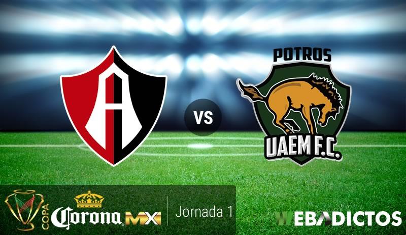 Atlas vs Potros UAEM, Jornada 1 Copa MX A2017 | Resultado: 2-1 - atlas-vs-potros-uaem-copa-mx-apertura-2017