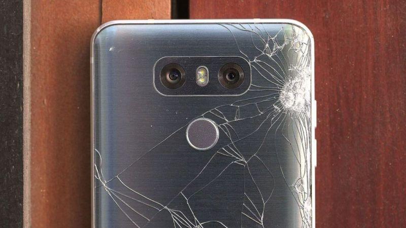 EL LG G6 no logra conquistar a los consumidores - broken-g6