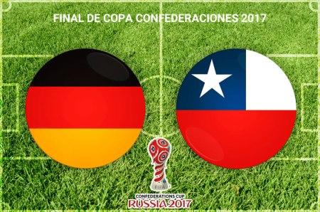 Chile vs Alemania, Final Confederaciones 2017 | Resultado: 0-1