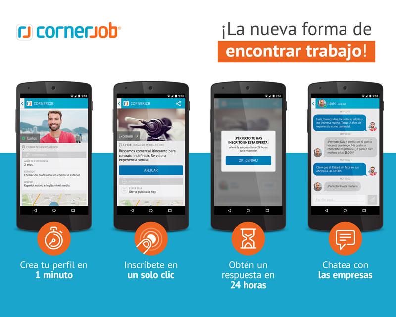 Esta app te ayudará a encontrar trabajo en verano - cornerjob-encontrar-trabajo