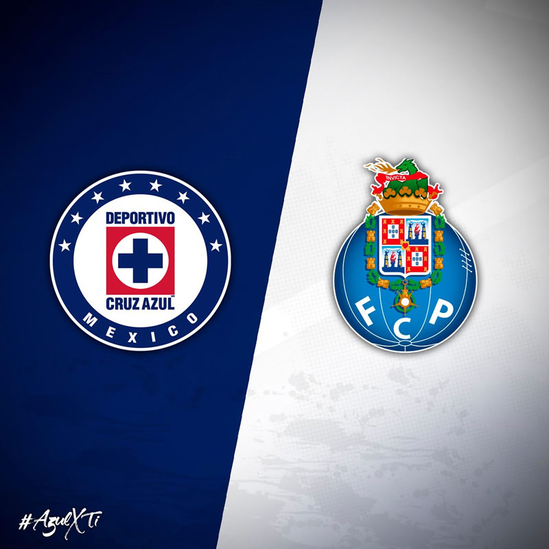 Cruz Azul vs Porto, Súper Copa Tecate 2017 | Resultado: 0(3)-(2)0 - cruz-azul-vs-porto-super-copa-tecate-2017