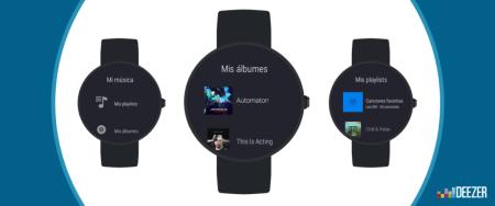 Deezer ahora disponible para los usuarios de Android Wear