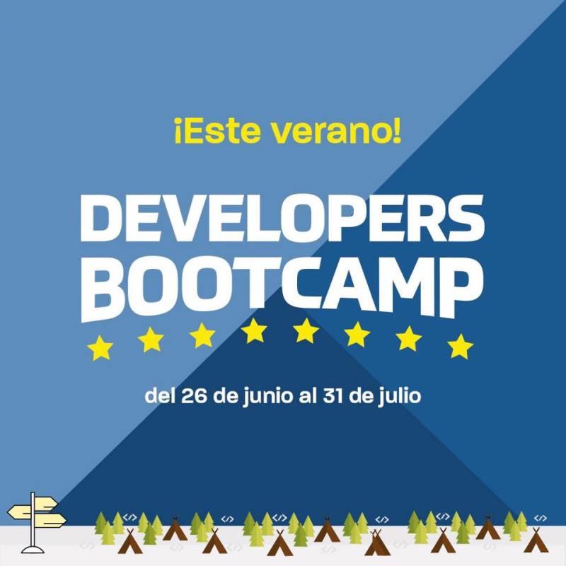 Developers Bootcamp: evento que ofrece acceso a talleres, cursos y webinar este verano - developers-bootcamp-800x800