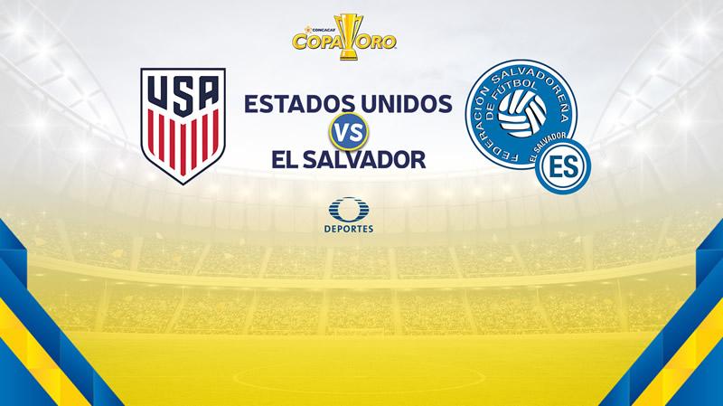 Estados Unidos vs El Salvador, Copa Oro 2017 | Resultado: 2-0 - estados-unidos-vs-el-salvador-copa-oro-2017