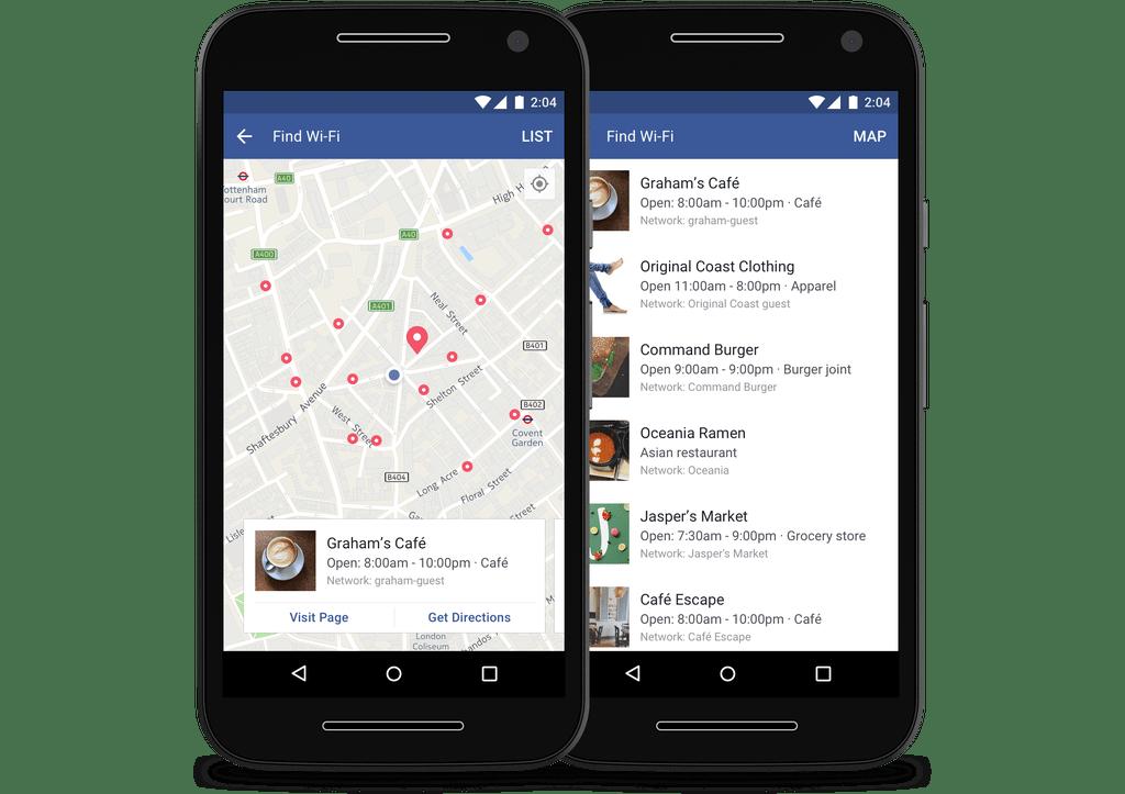 Facebook te ayudará a encontrar redes Wi-Fi - facebook-find-wifi